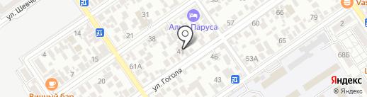 Татьяна на карте Анапы