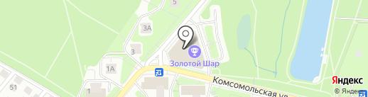 ПлюсЭлектро на карте Красногорска