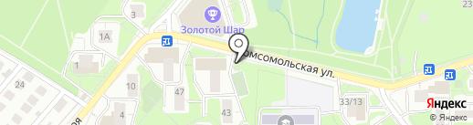 QIWI Post на карте Красногорска