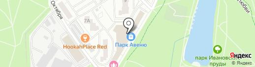 СпивакЪ на карте Красногорска