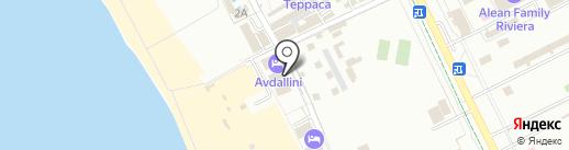 АВДАЛиЯ на карте Анапы