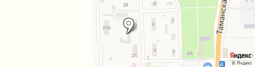 Участковый пункт полиции №9 на карте Анапы