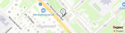 Московский кредитный банк, ПАО на карте Красногорска