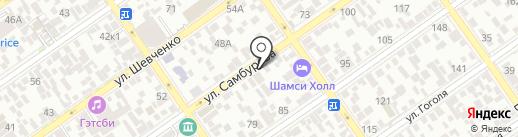 Агентство переводов на карте Анапы