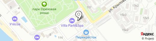 Эдельвейс на карте Анапы