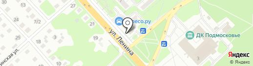 Кондитерский магазин на карте Красногорска
