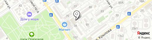 Банкомат, Сбербанк, ПАО на карте Анапы