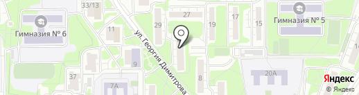 Зенит, ЖСК на карте Красногорска