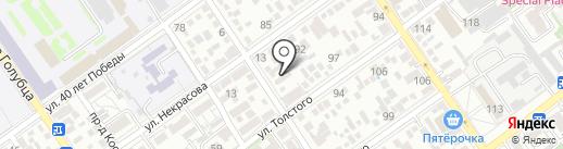 Бристоль на карте Анапы