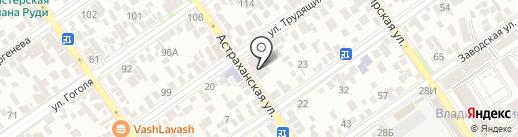 Ногтевая студия на карте Анапы