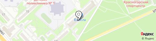 Дикси на карте Красногорска