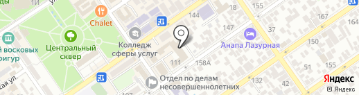 Ростелеком на карте Анапы