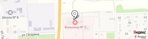 Участковая больница №1 на карте Анапы