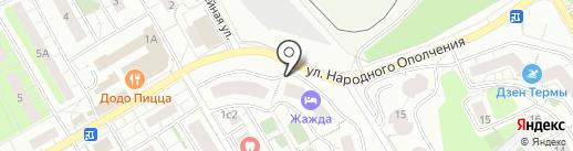 Аленка на карте Красногорска