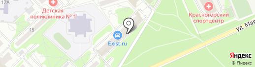 У друзей на Губайлово на карте Красногорска