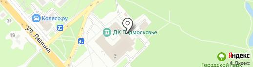 Терминал Плюс на карте Красногорска