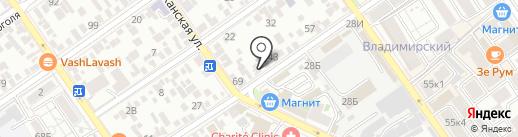 Магазин спецодежды на карте Анапы