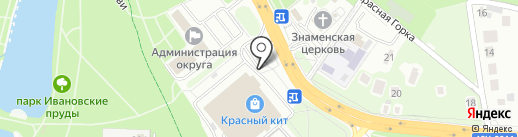 Ticketland на карте Красногорска