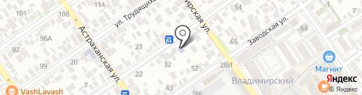 Библиотека №23 на карте Анапы