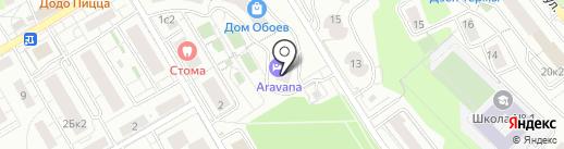 Royal Riviera на карте Красногорска