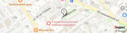 Магазин на карте Анапы