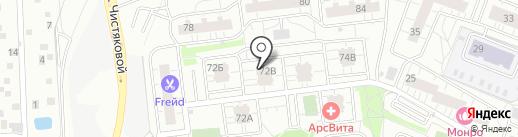 Дыхание на карте Одинцово