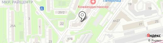 Базилио на карте Красногорска