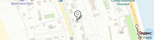 Звездочка-Юг на карте Анапы