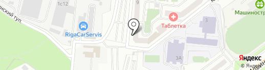 Южный на карте Красногорска