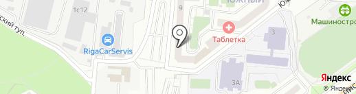 Попурри на карте Красногорска