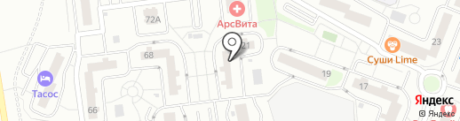 Немчиновский отдел полиции на карте Одинцово