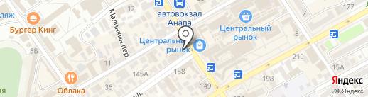 Je Time на карте Анапы