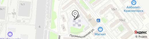 Детский сад №38 на карте Красногорска