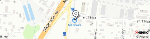 80/100 на карте Одинцово
