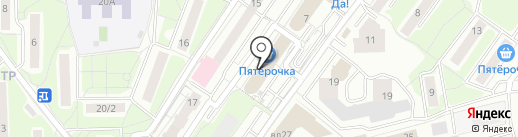 Землеустроитель на карте Красногорска