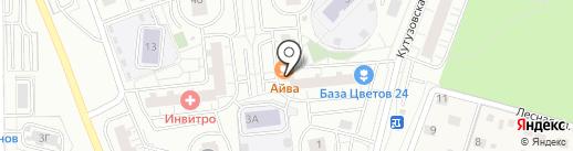 Айва на карте Одинцово