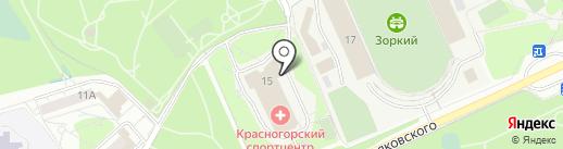 KR Boxing Club на карте Красногорска