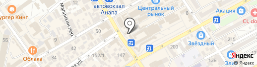 Крым Золото на карте Анапы