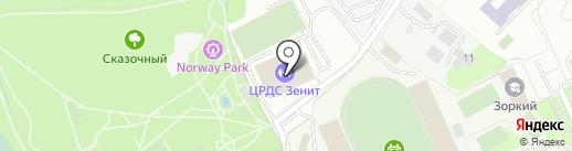 Додзё Рэнсинкай Айкидо на карте Красногорска