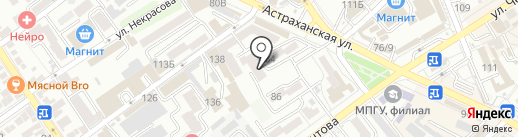 Курортмакс на карте Анапы
