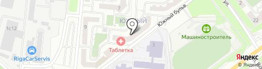Малыш+ на карте Красногорска