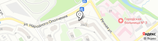 Гардемарины на карте Красногорска