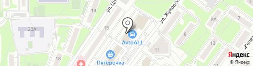 БИОМЕДИС на карте Красногорска