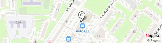1xbet на карте Красногорска