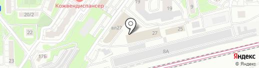Textileoutlet.ru на карте Красногорска