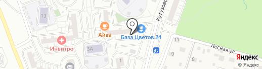 Мир быстрой еды на карте Одинцово