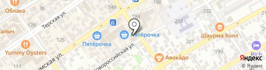 Кока-Кола Эйч Би Си Евразия на карте Анапы