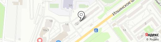 Коммунально-эксплуатационное управление на карте Красногорска