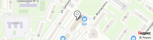 Техноколор на карте Красногорска