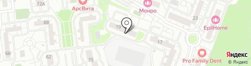 Шелковый путь на карте Одинцово